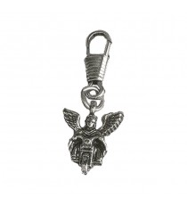 Zipper Pull Guardian Angel