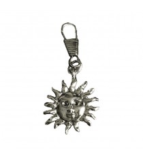 Zipper Pull Sun Face