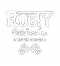 Sticker Rusty Butcher Finish Line