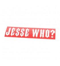 Sticker WCC Jesse Who