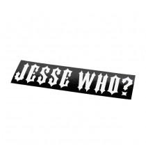 Sticker WCC Jesse Who Nero
