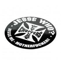 Sticker WCC Jesse Maltese Cross Nero