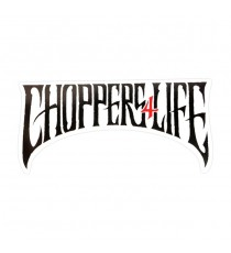 Sticker WCC Chopper For Life