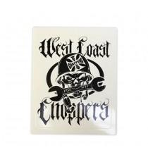 Sticker WCC WTF