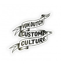 Sticker Von Dutch Custom Culture