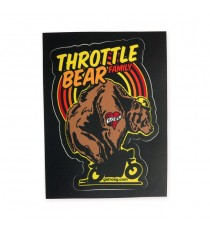 Sticker Roeg Throttle Bear