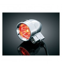 Frecce Led Kuryakyn Super Bright Bullet Red Lens