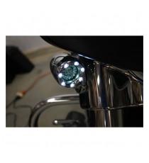 Frecce moto Led Anteriori Bullet Ringz Smoke Lens