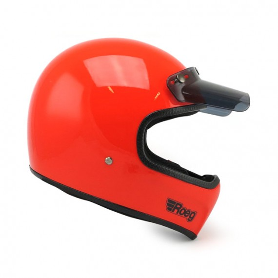 Casco Roeg Integrale Peruna Oompa Orange