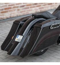 "Borse Bagger Stretch 5"" Killer Custom Harley Davidson Touring 96 – 13"
