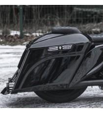 "Borse Bagger Stretch 5"" D Killer Custom Harley Davidson Touring 14 – 19"