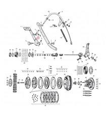 "Guarnizione asta frizione Harley Davidson SV 45"" 1937 – 1973"