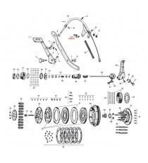 Bullone di fissaggio cavo frizione Harley Davidson SV 45