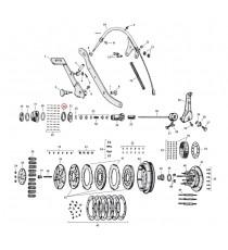 """Cuscinetto di spinta frizione Harley Davidson SV 45"""" 1941 – 1973"""