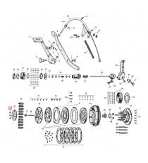 Bullone perno mozzo frizione Harley Davidson SV 45