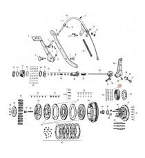 """Cuscinetto mozzo frizione Harley Davidson SV 45"""" 1941 – 1973"""