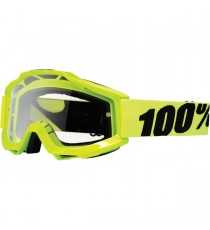 Maschera 100% Accuri Fluo Yellow Offroad