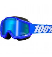 Maschera 100% Accuri Blue Snow Goggle