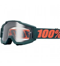 Maschera 100% Accuri Gunmetal Offroad