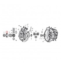 Paraolio Albero Trasmissione carter Motore Cometic Harley Davidson Big Twin 1970 – 1999