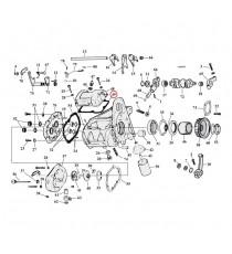 Guarnizione Cometic Coperchio Trasmissione Harley Davidson Twin Cam 1999 - 2005