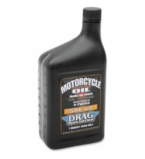 Olio Motore Minerale Drag Specialties High Performance SAE Fisso Harley Davidson