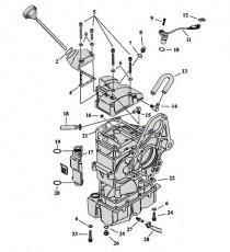 Viti e O-Rig Sensore Contachilometri Harley Davidson Dyna 1991 – 1998