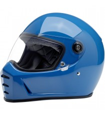 Casco integrale Biltwell Lane Splitter Gloss Tahoe Blue