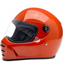 Casco integrale Biltwell Lane Splitter Hazard Orange