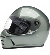 Casco integrale Biltwell Lane Splitter Metallic Olive