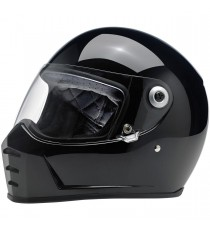 Casco integrale Biltwell Lane Splitter Gloss Black