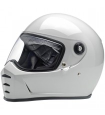 Casco integrale Biltwell Lane Splitter Gloss White