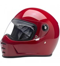 Casco integrale Biltwell Lane Splitter Gloss Blood Red