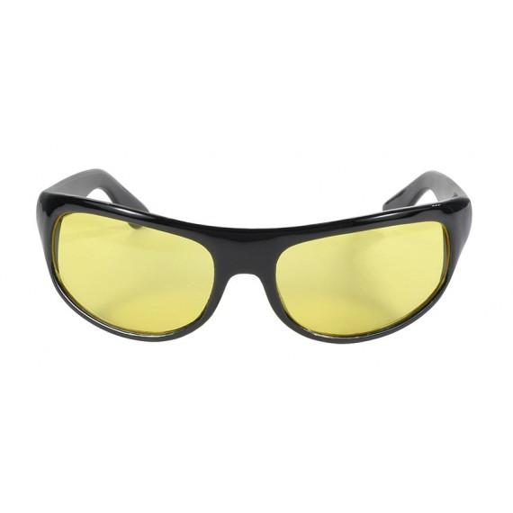 Occhiali Kickstart Harley Davidson Wrap Black Frame Yellow lens