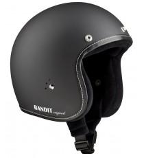Casco Bandit Jet Premium Matt Black