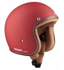 Casco Bandit Jet Premium Matt Red