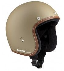 Casco Bandit Jet Premium Matt Sandy