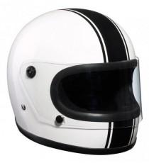 Casco Bandit Integrale Black & White
