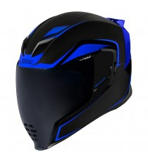Casco Icon Airflite Integrale Crosslink Blu ECE