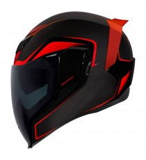 Casco Icon Airflite Integrale Crosslink Red ECE