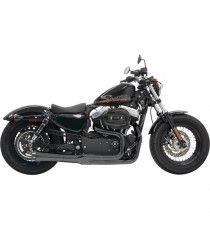 Bassani Road Rage 2 Mega Power Black XL Sportster 2004 - 2013