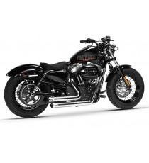 Bandit 2 in 2 Systems Chrome XL Sportster 2014 UP