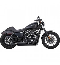 Shortshots Staggered Black XL Sportster 2014 →