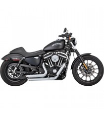 Shortshots Staggered Chrome XL Sportster 2014 →