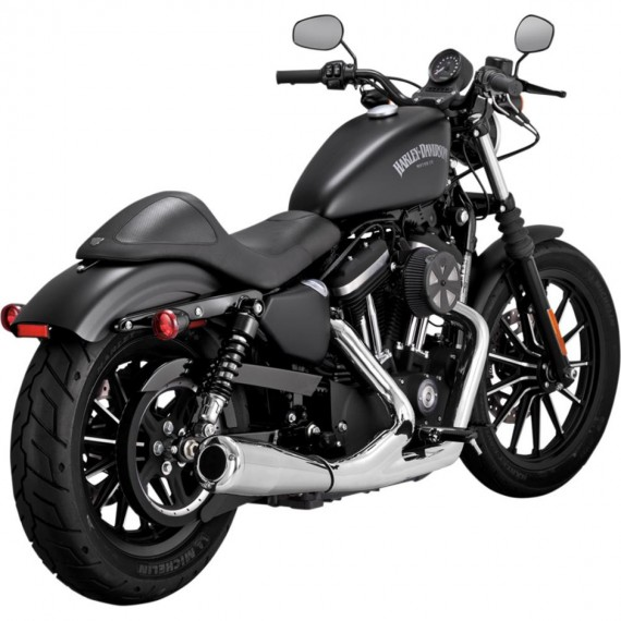 UP Sweep 2-1 Chrome XL Sportster 2007 →