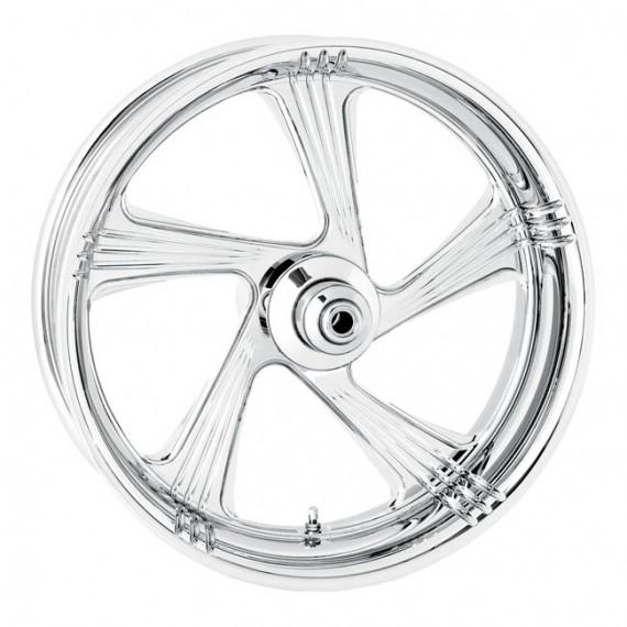 Cerchio anteriore Performance Machine Element Cromato Softail  17 x 3,5
