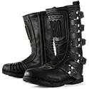 Scarpe e stivali moto vintage protettivi